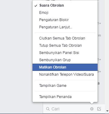 Trik agar terlihat online di Facebook chat hanya untuk teman tertentu