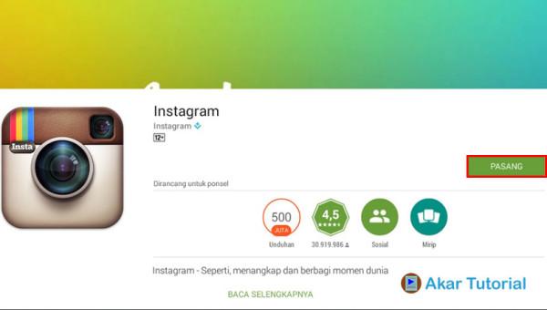 Tutorial Cara Membuat Instagram Dengan Instan Tanpa Ribet