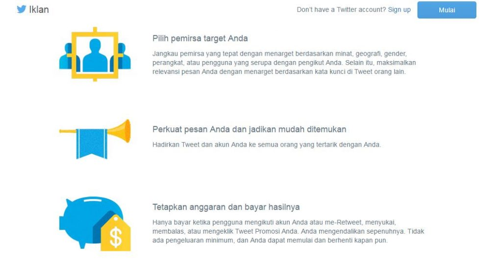 Layanan Self-Services Ads dari Twitter