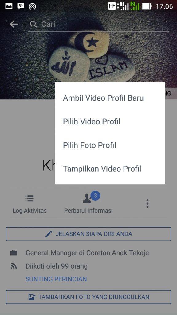 Cara Membuat Foto Profil Bergerak Di Facebook Belifollowers