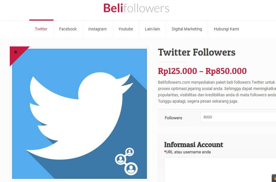 jasa tambah twitter followers