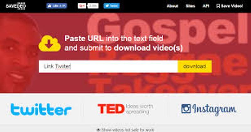 Cara Download Video Atau Gambar Di Twitter Dengan Savedeo Com Belifollowers Com