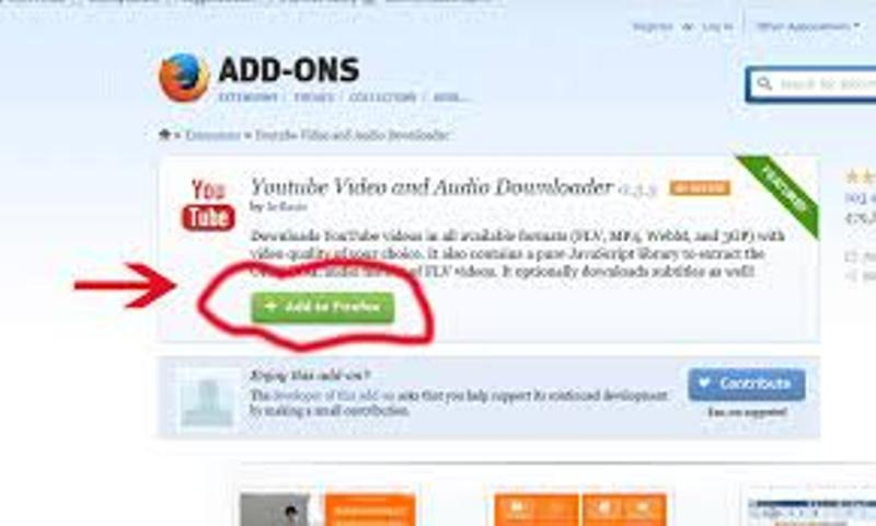 Cara Mendownload Video Di Youtube Dengan Add-OnsExtention
