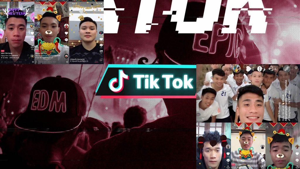Aplikasi Tik Tok bisa digunakan bersama-sama dengan teman-teman