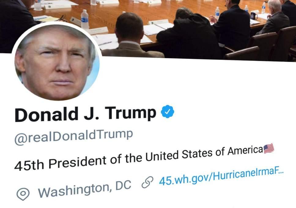 donal trump kehilangan 300 pengikut twitter