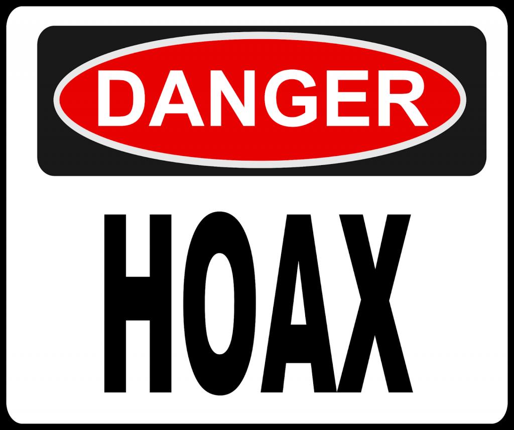 3. Stop menyebarkan berita hoaks!