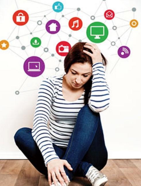 sosial media mempengaruhi suasana hati