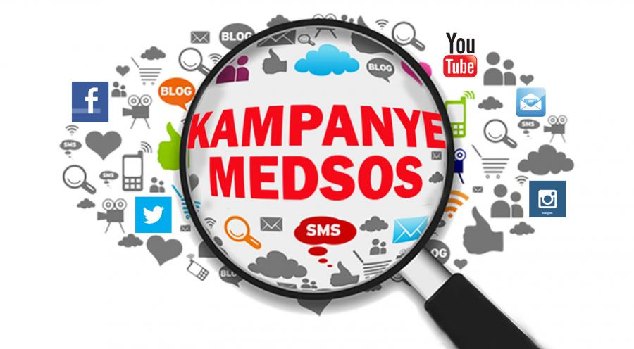 2. Media komunikatif antar caleg atau capres