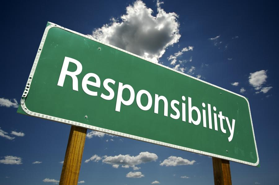 Tanggung jawab seseorang sering kali tidak bisa dipertanggungjawabkan