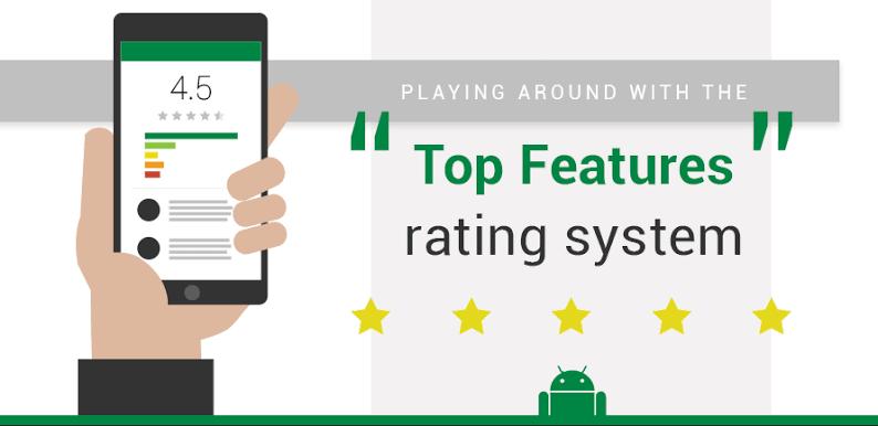 Rating sangat mempengaruhi apakah user ingin menginstalnya atau tidak