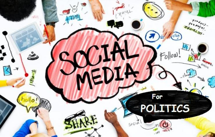 Media sosial berperan aktif dalam pemilu