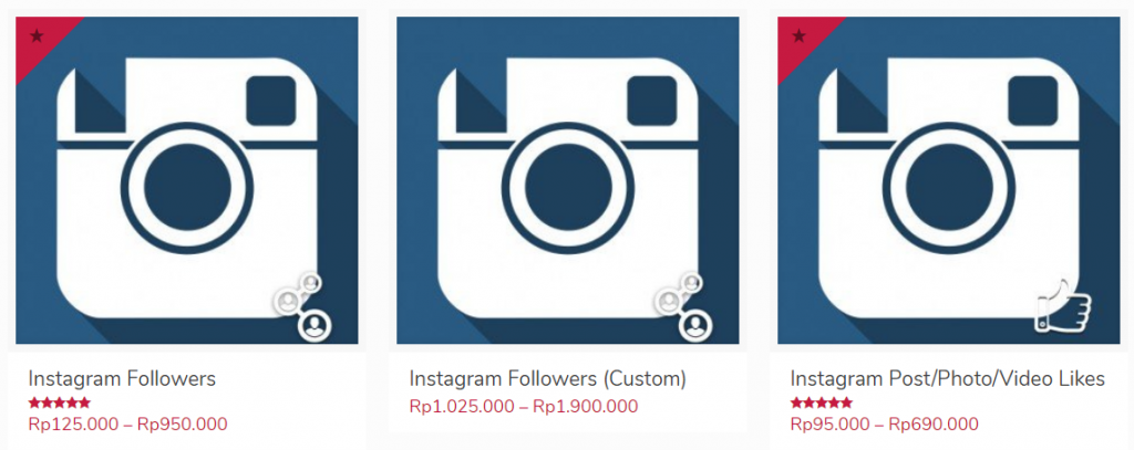 harga instagram
