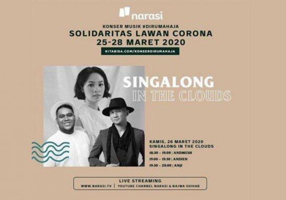 Narasi Bersama Para Seniman Galang Dana Dengan Konser Musik