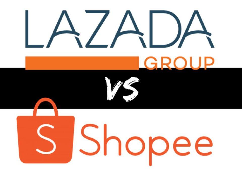 Perbedaan aplikasi ecommerce (Shopee dan Lazada)
