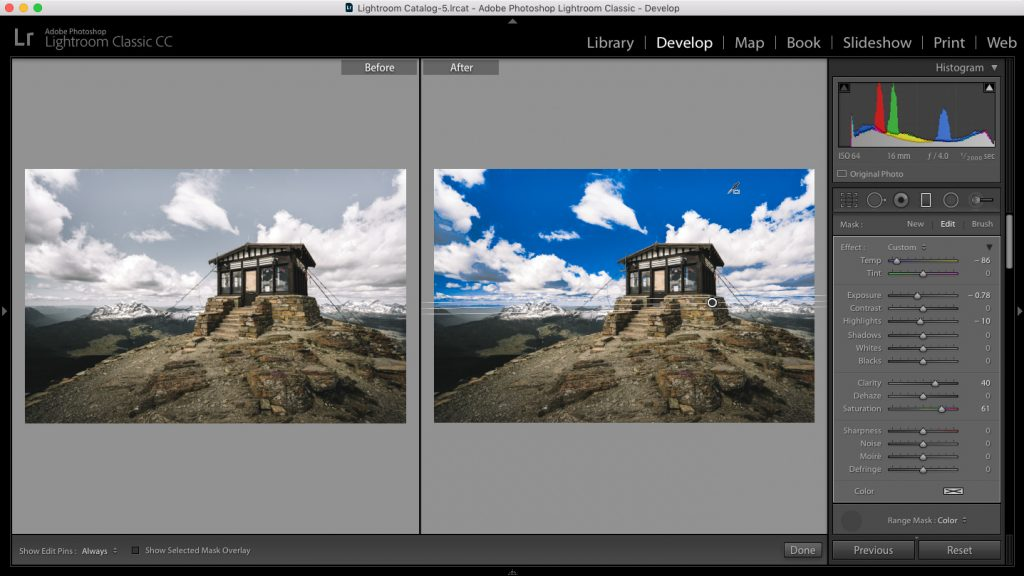 2. adobe lightroom