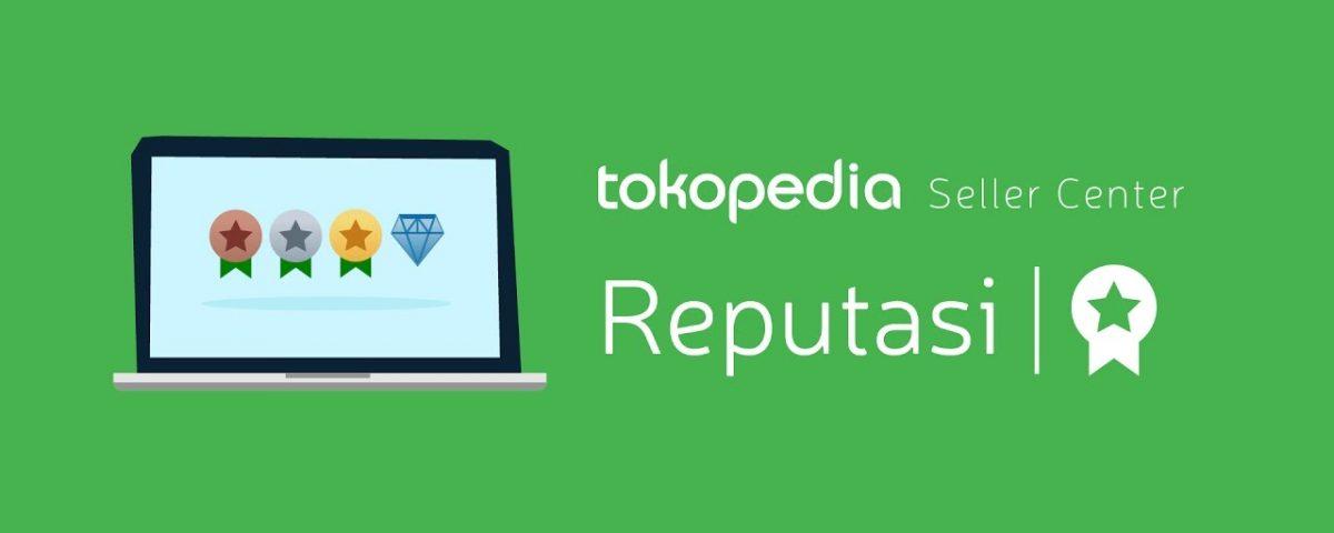 Ini dia tingkatan reputasi yang ada di Tokopedia, dan yang paling tinggi diamond